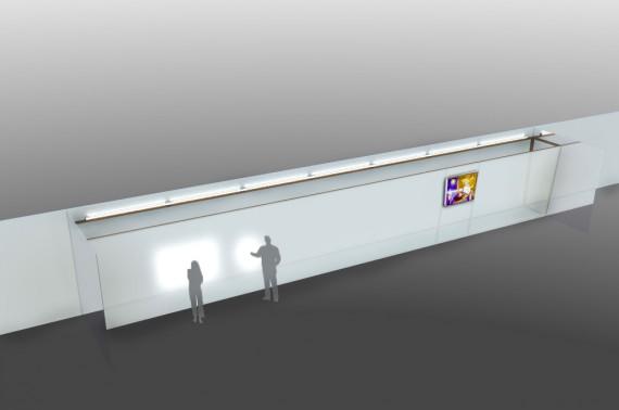 Concept image: initial installation design